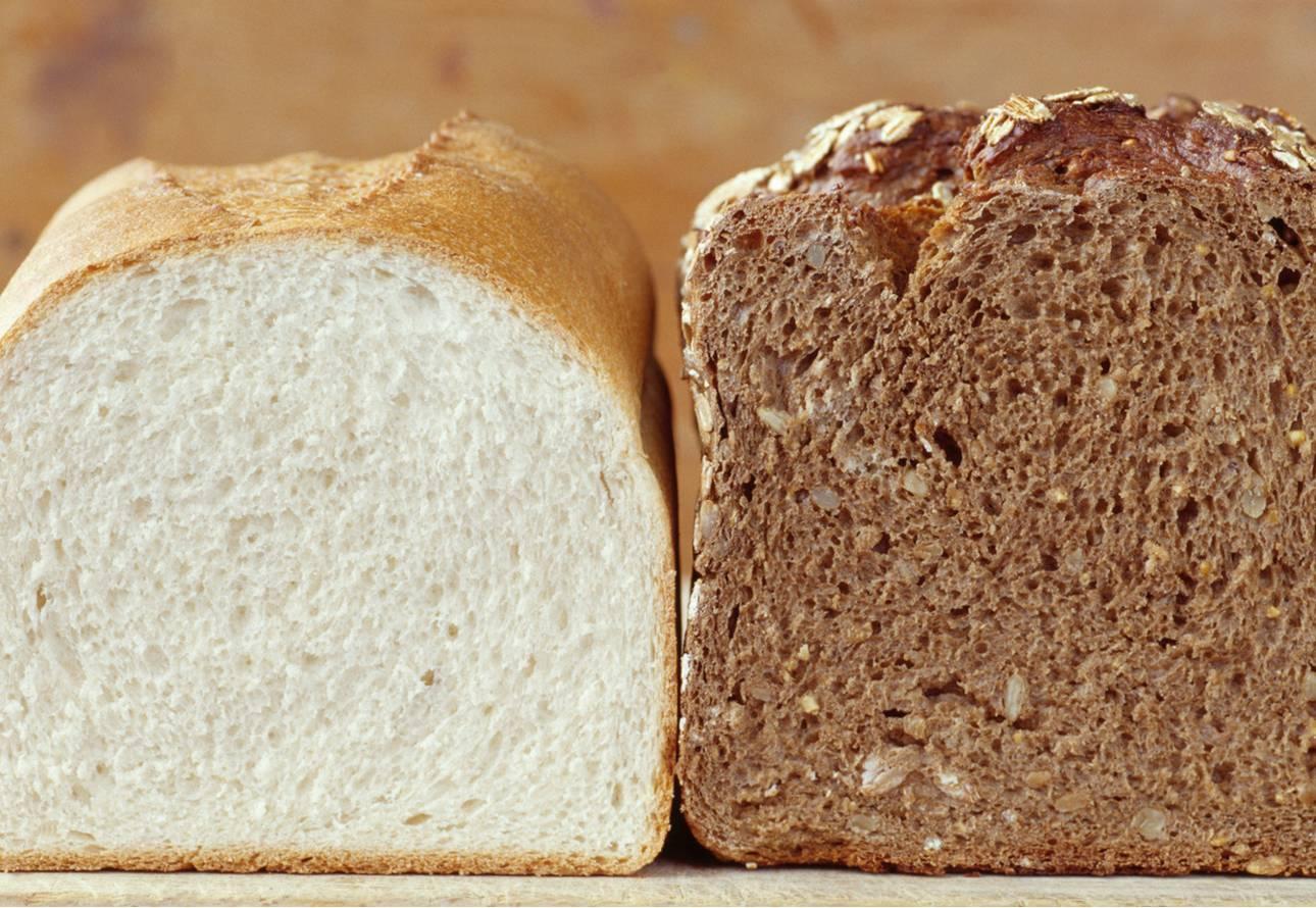 Resultado de imagen de pan refinado e integral