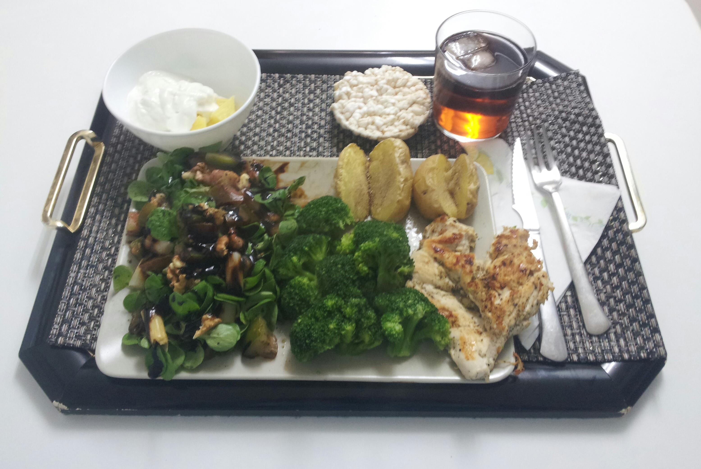 Comida sana, comida saludable.