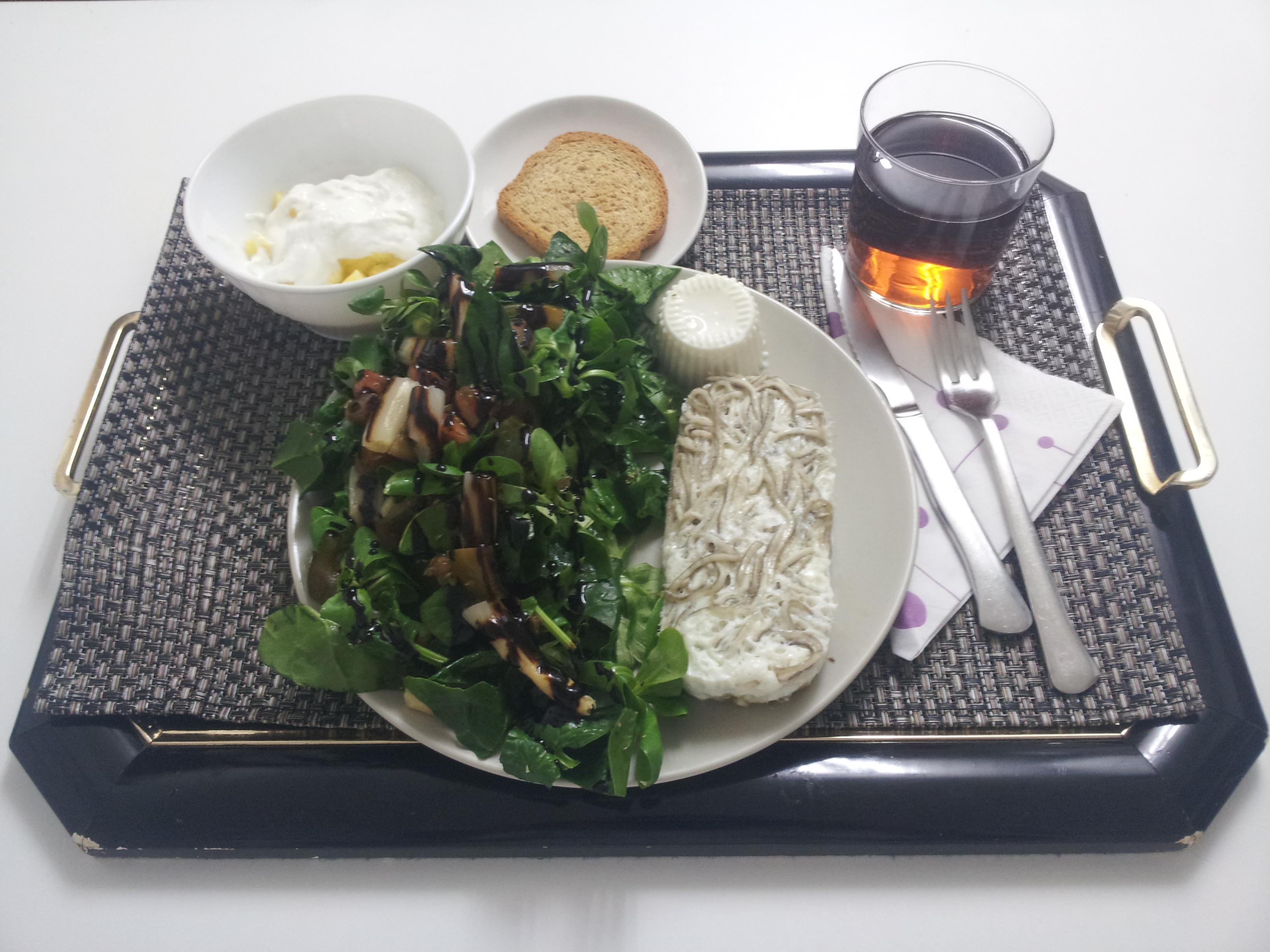 Cena sana, recetas saludables, receta saludable, ensalada, gulas, claras.