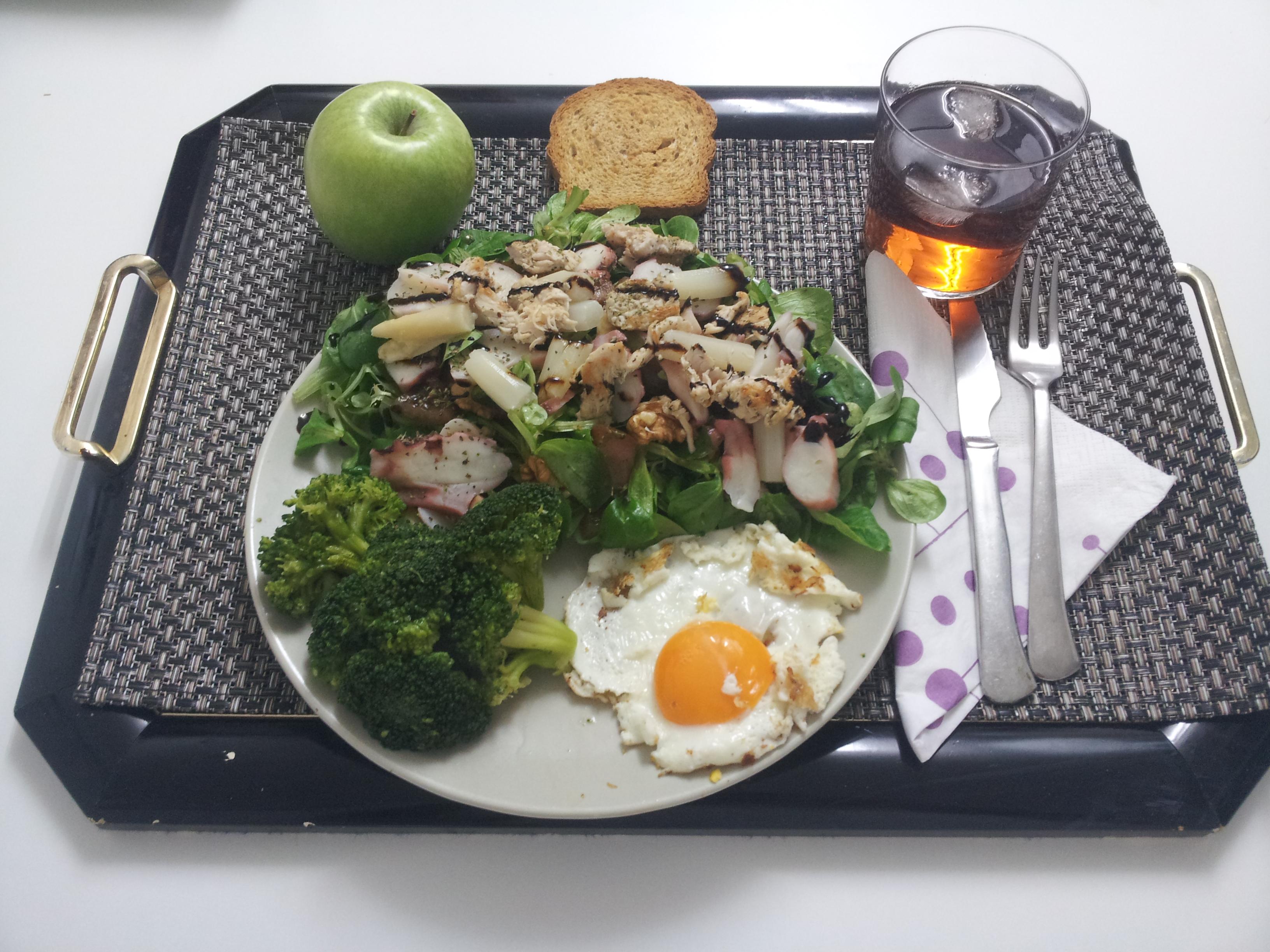 cenas saludables, cenas fitness, recetas saludables